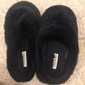 Fuzzy and cozy slippers